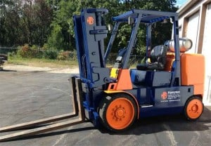 Hampton industrial services forklift