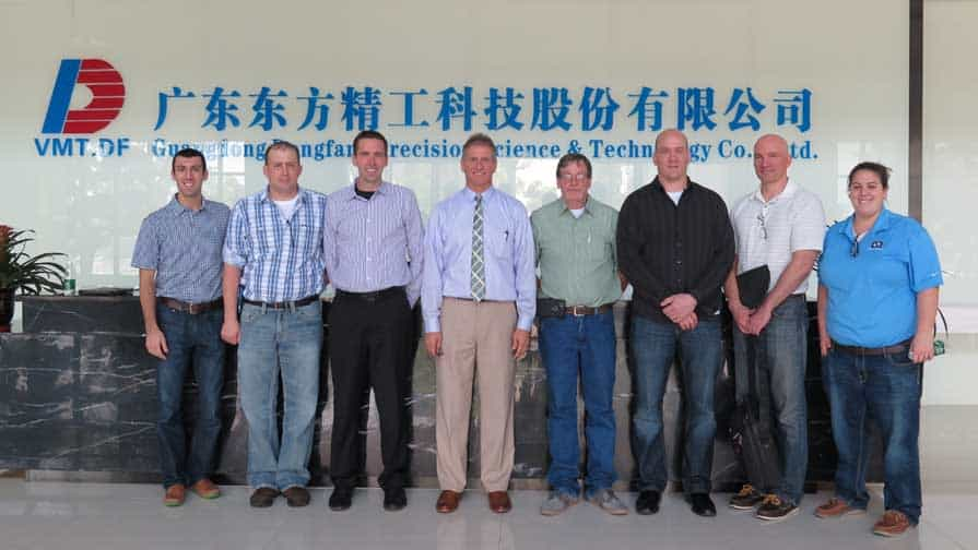 Hampton Industrial at Sino Corrugated in China