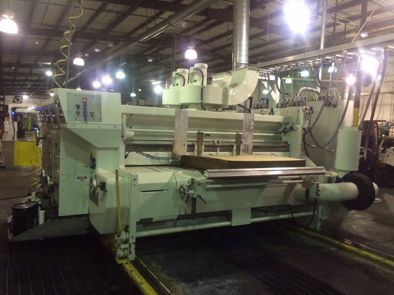 Ward Die Cutter with stacker